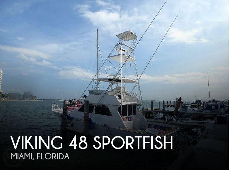 1987 Viking 48 Sportfish