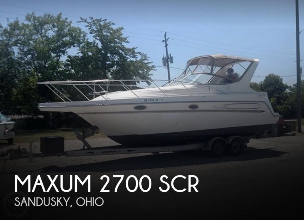 1997 Maxum 2700 SCR