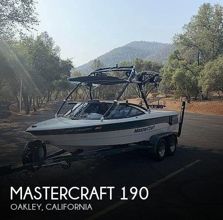 1997 Mastercraft Prostar 190