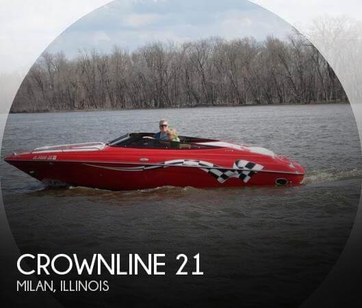2005 Crownline 21 LPX