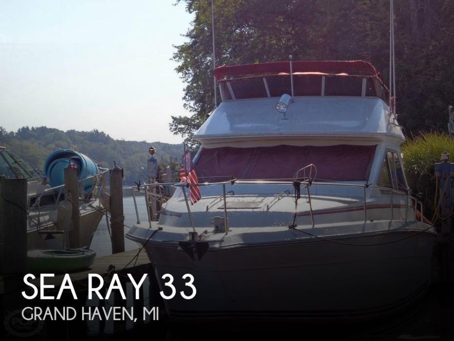 1989 Sea Ray 340 SDB
