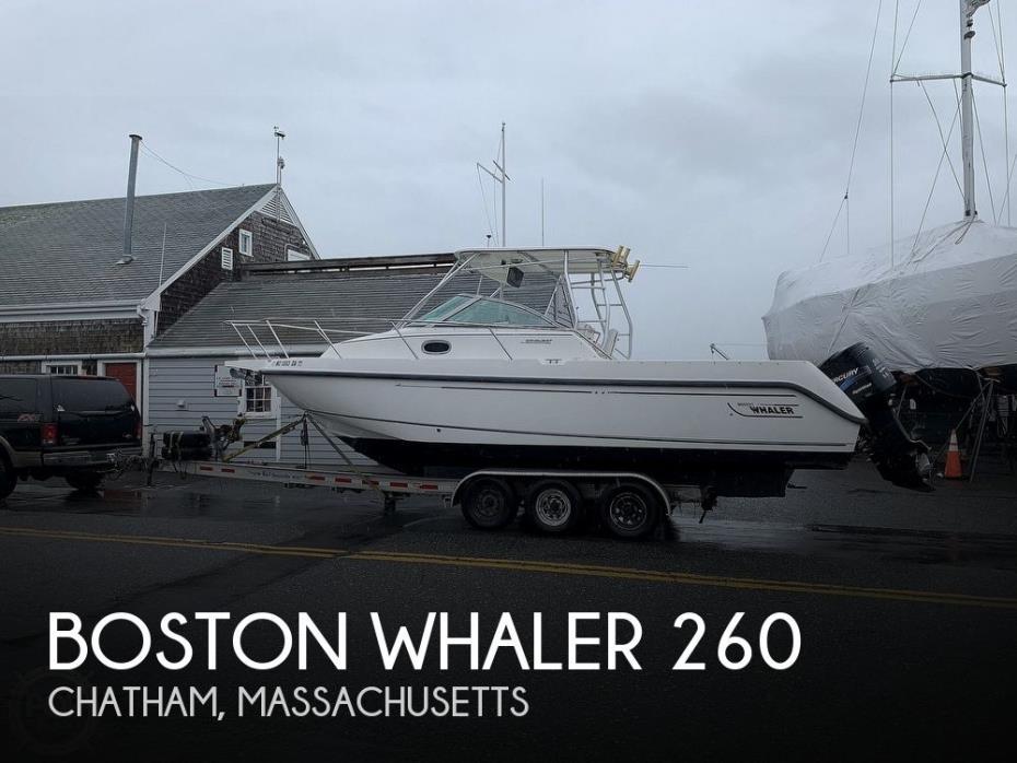 2001 Boston Whaler 260 Conquest
