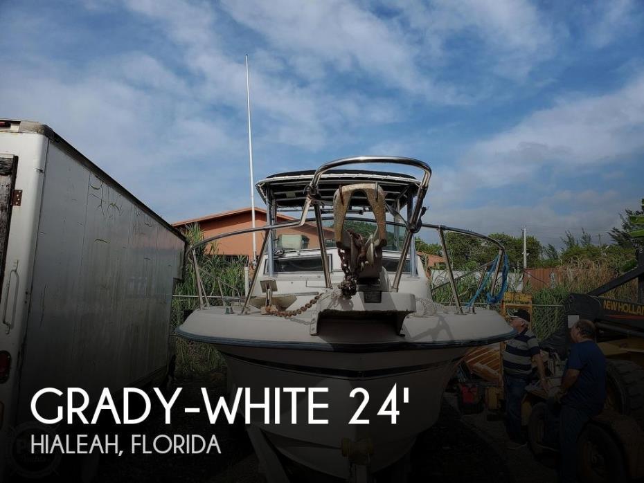 1992 Grady-White 244 Explorer