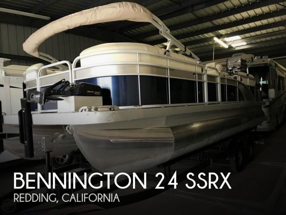 2015 Bennington 24 SSRX