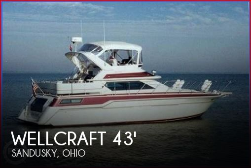 1988 Wellcraft 43 San Remo