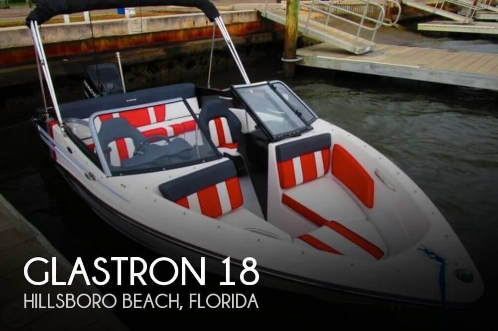 2013 Glastron 18