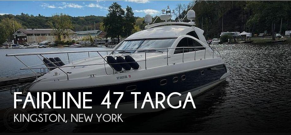 2006 Fairline 47 Targa