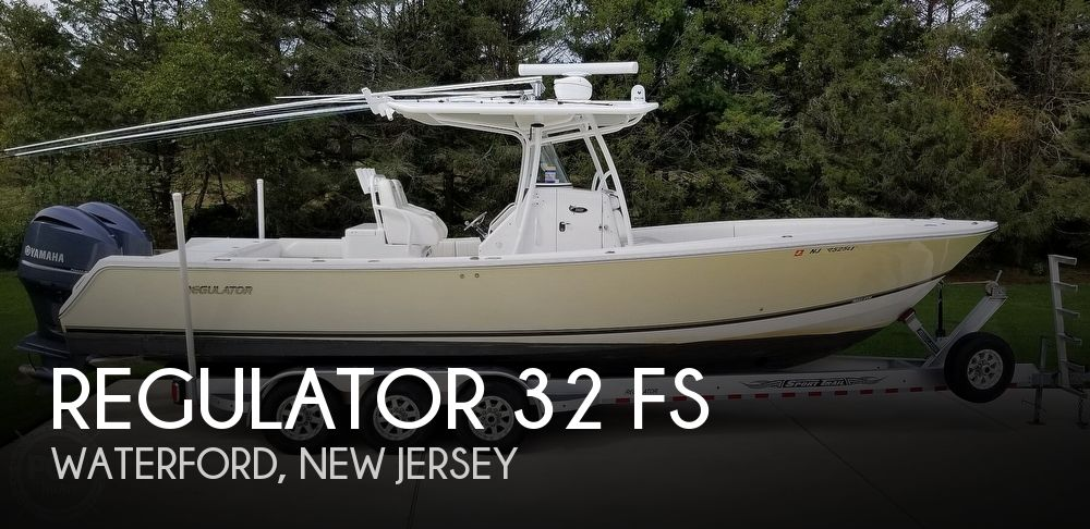 2014 Regulator Marine 32 FS