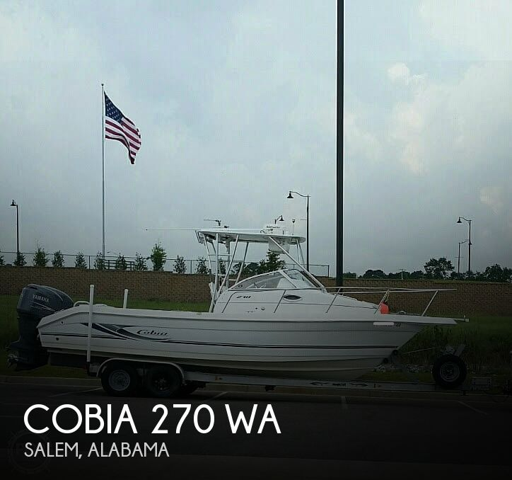 2005 Cobia 270 WA