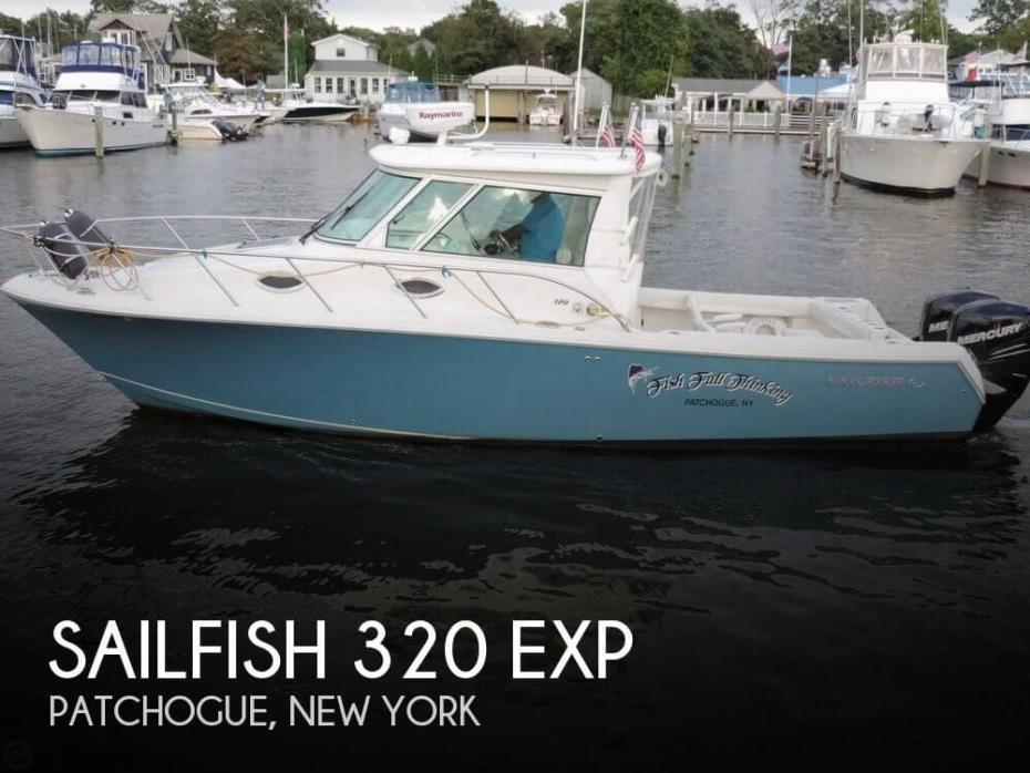 2014 Sailfish 320 EXP