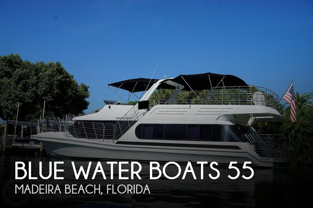 1992 Blue Water Boats 55