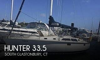 1993 Hunter 33.5