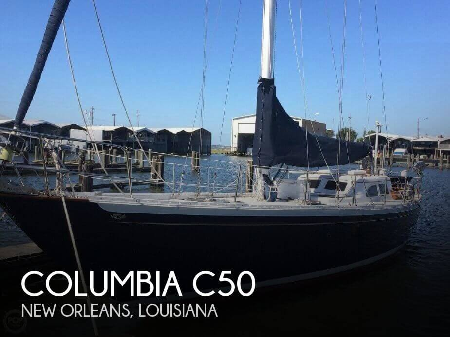 1968 Columbia C 50 Cutter Rig Sloop