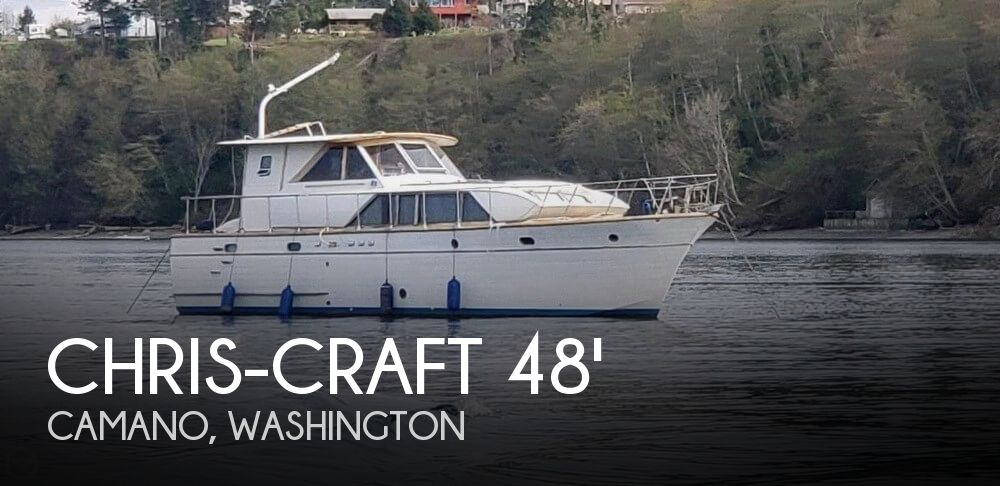 1967 Chris-Craft 48 Constellation