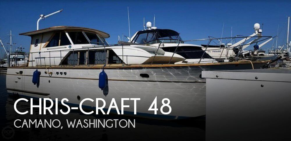 1967 Chris-Craft 48
