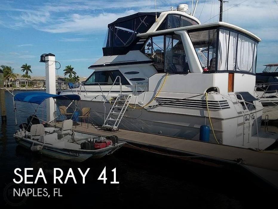 1986 Sea Ray 41