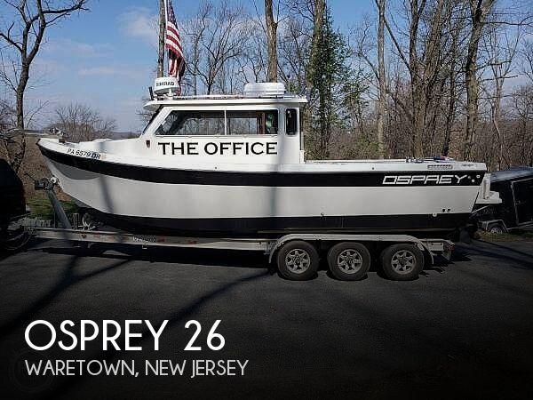 2005 Osprey 26 Long Cabin
