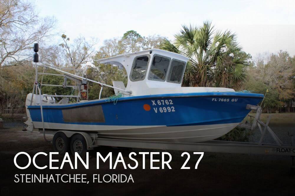 1987 Ocean Master 27