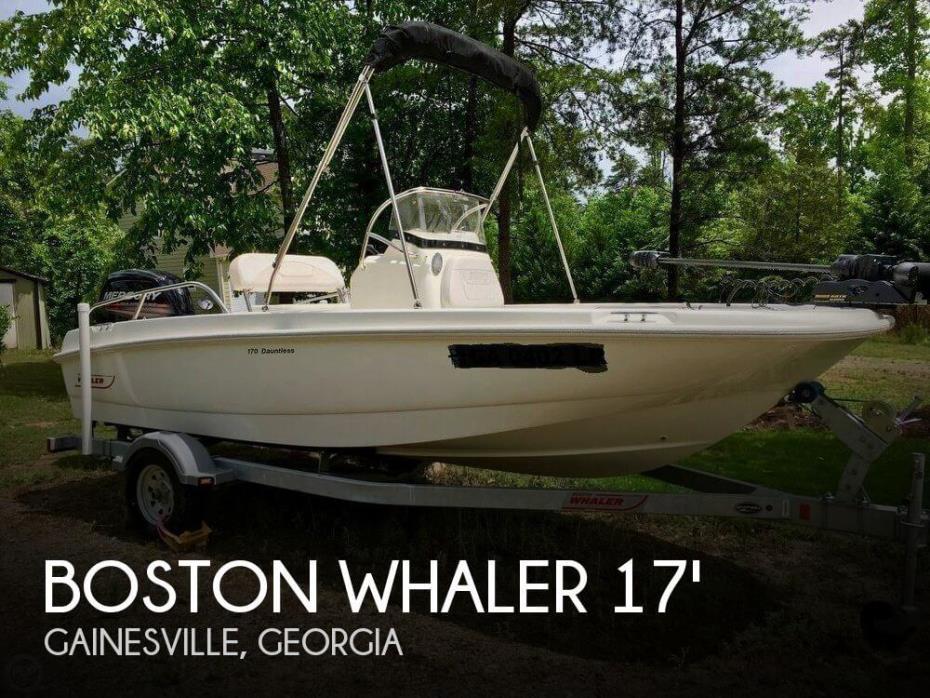 2015 Boston Whaler 170 Dauntless
