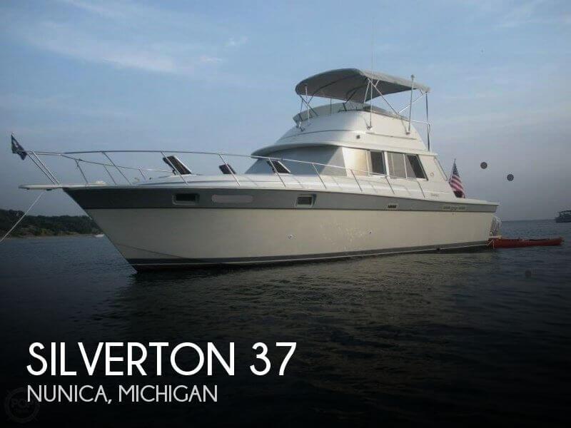1986 Silverton 37