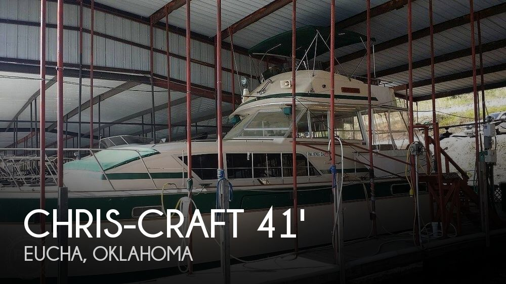 1983 Chris-Craft 410 Commander