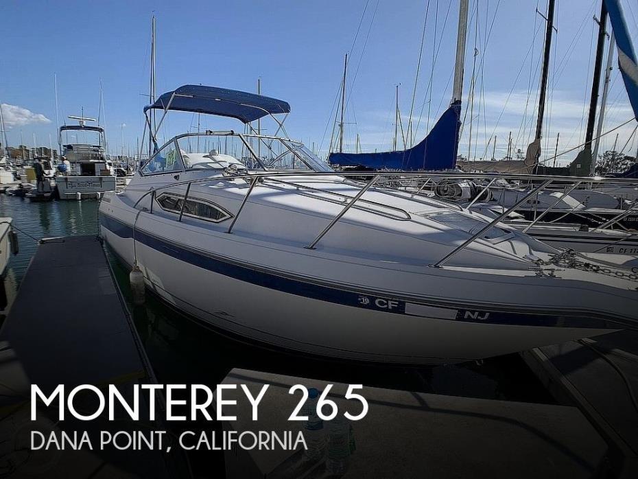 1994 Monterey 265 Cruiser