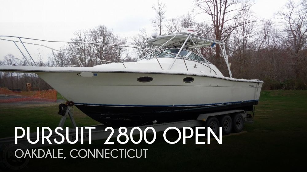 1989 Pursuit 2800 Open