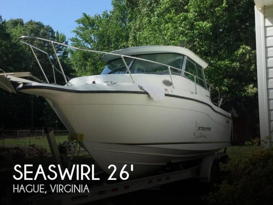 2004 Seaswirl Striper 2600 SC