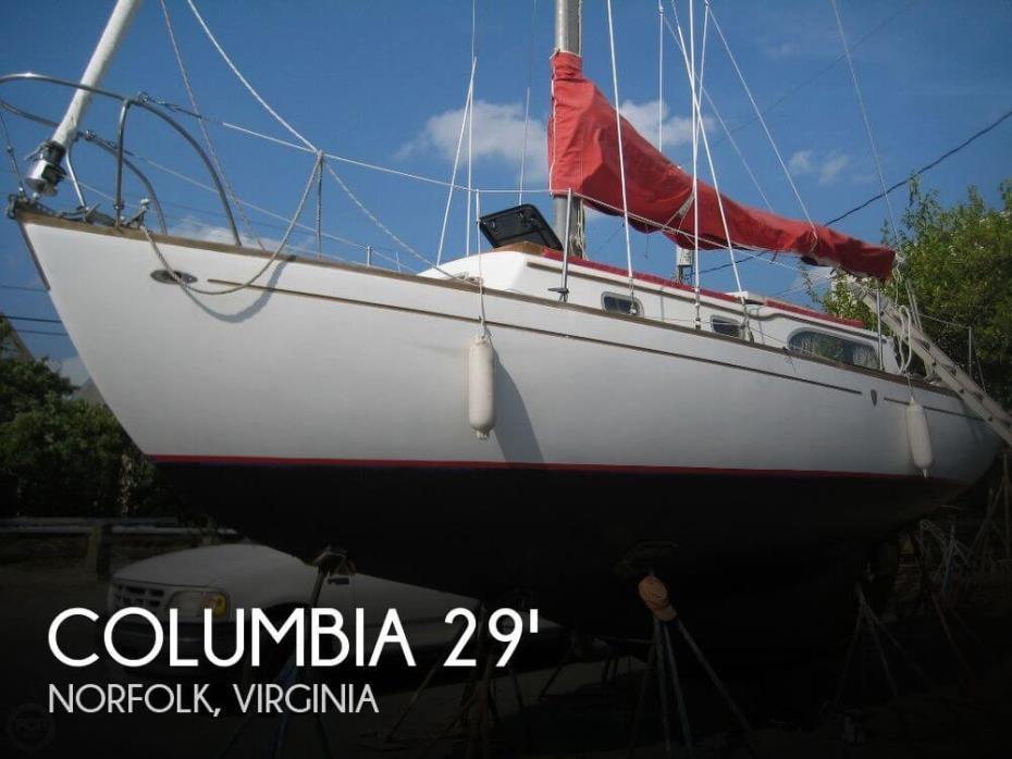 1967 Columbia 29 S & S Mark II