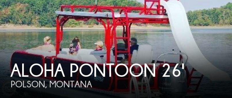 2018 Aloha Pontoon 260 Upper Sundeck