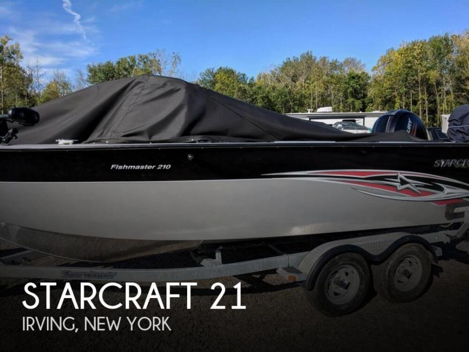 2015 Starcraft Fishmaster 210