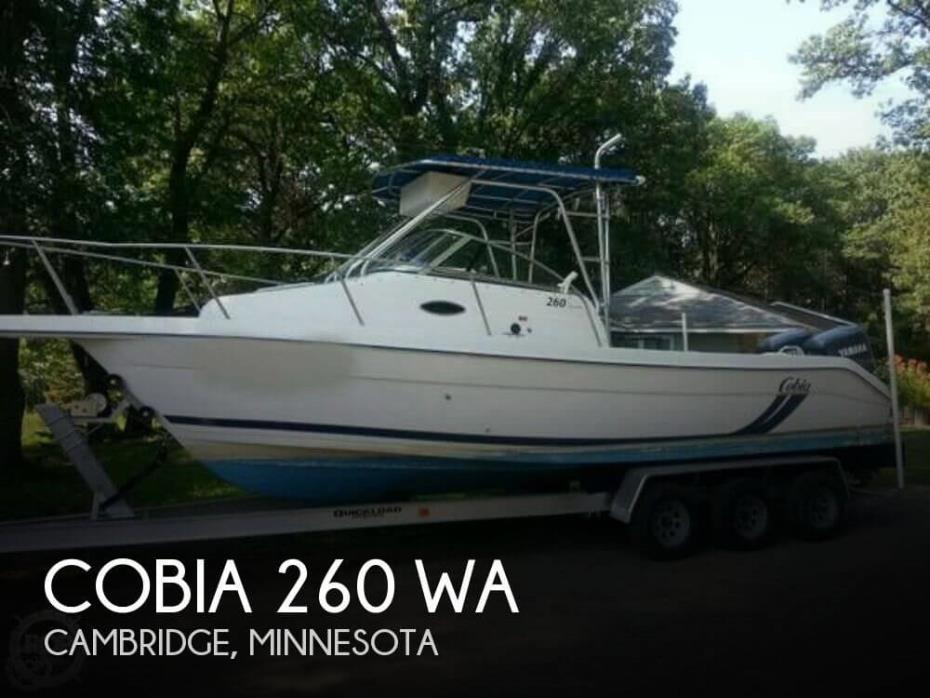 1999 Cobia 260 WA