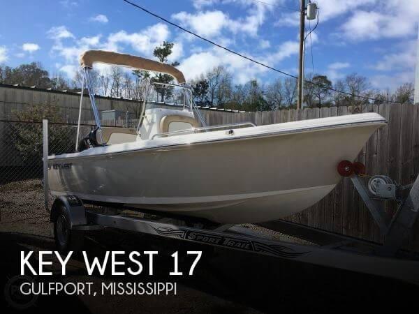 2017 Key West 1720 Sportsman
