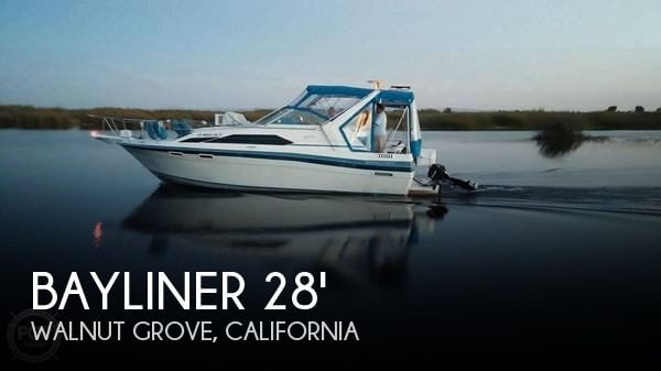 1988 Bayliner 2855 Contessa Sunbridge