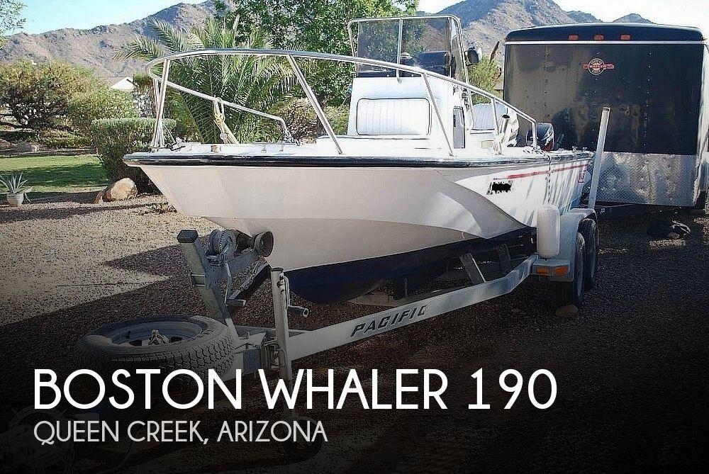 1990 Boston Whaler 190 Outrage