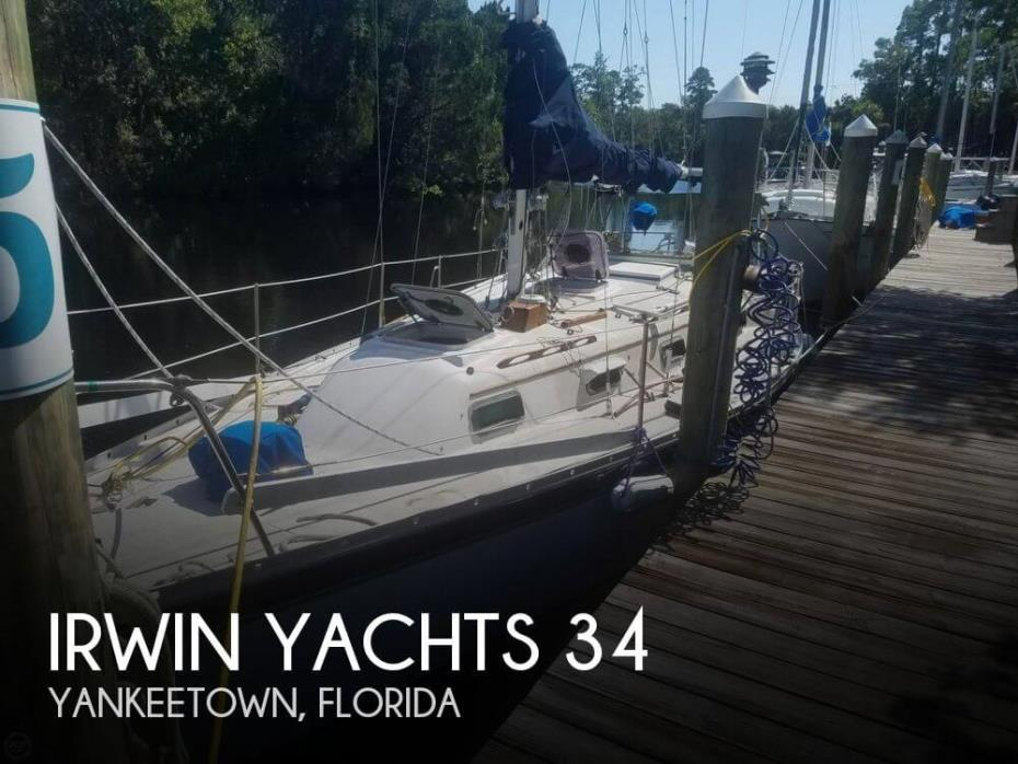 1982 Irwin Yachts 34 CITATION