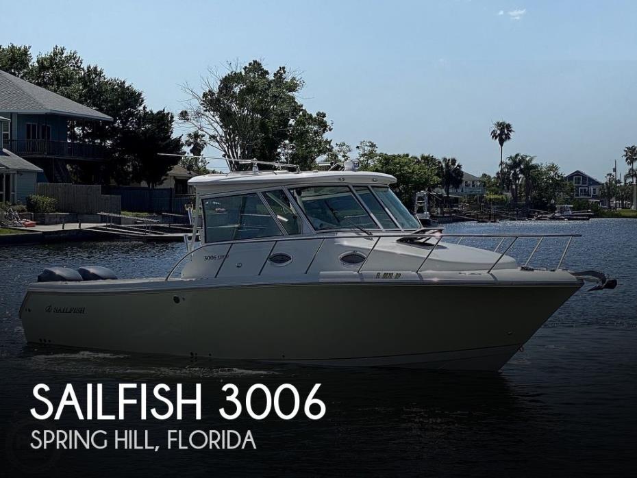2009 Sailfish 3006