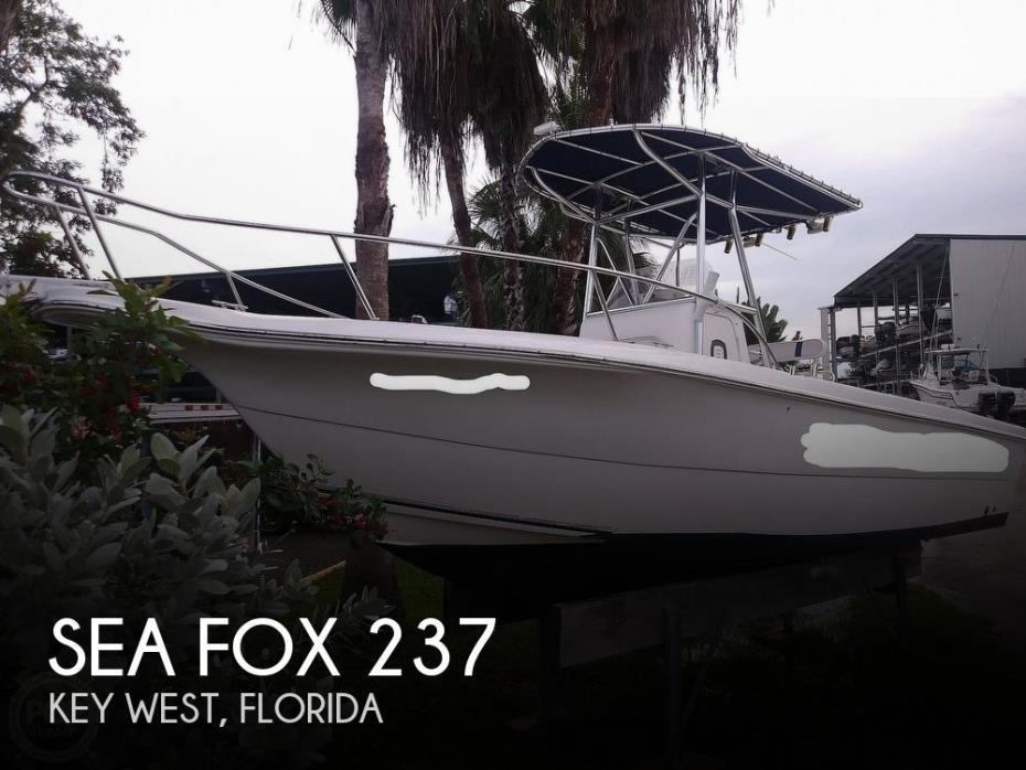 2002 Sea Fox 237