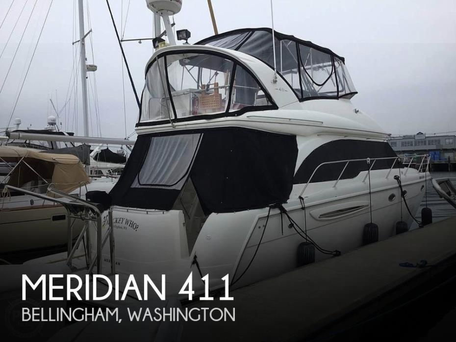 2007 Meridian 411 Sedan