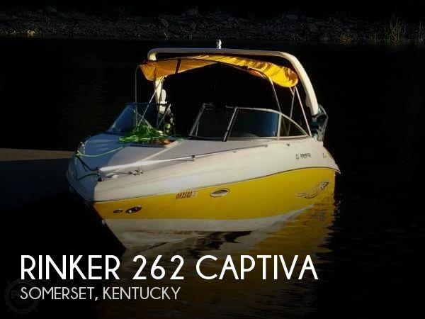 2006 Rinker 262 Captiva