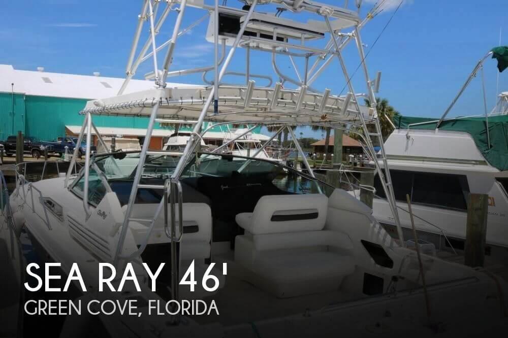 1992 Sea Ray 400express cruiser