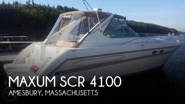 1997 Maxum SCR 4100