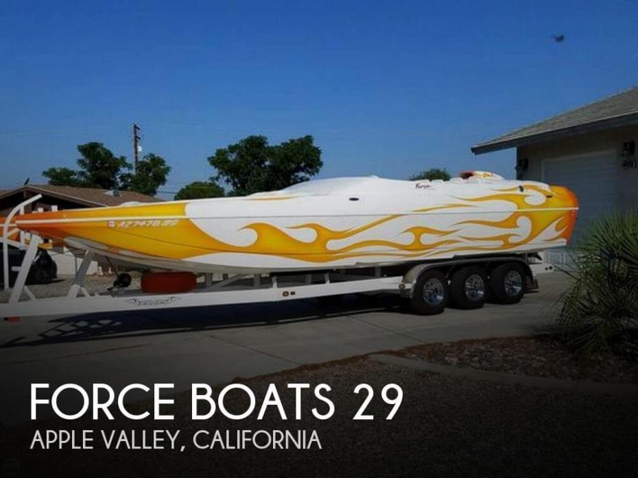 2004 Force Boats 29 Cat MCOB