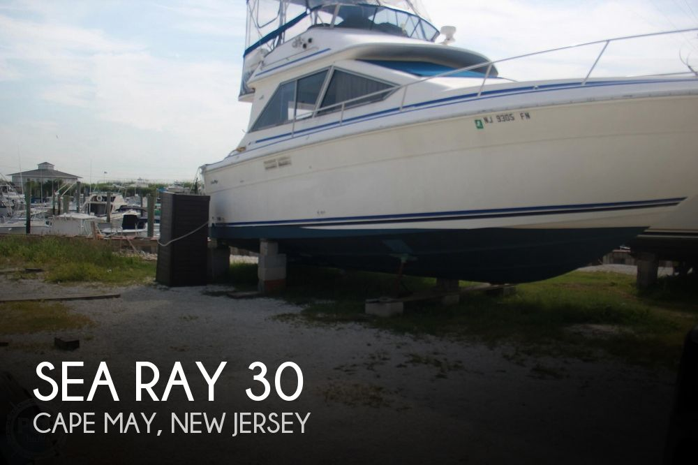 1989 Sea Ray 300 Sedan Bridge