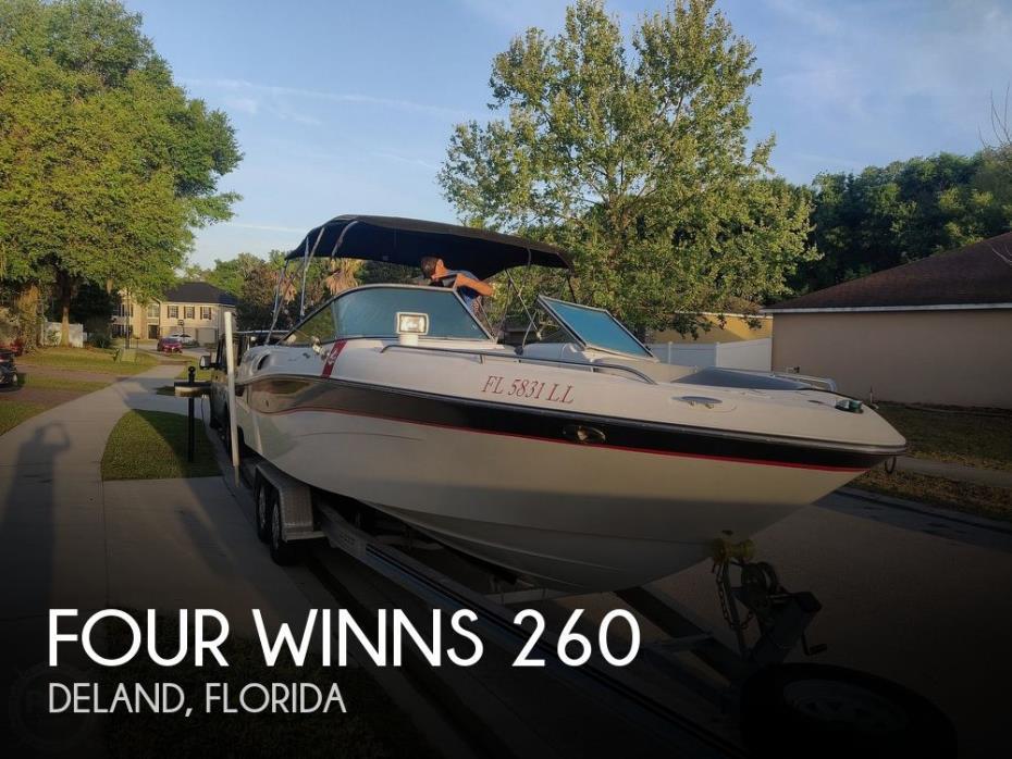 2001 Four Winns 260 Horizon