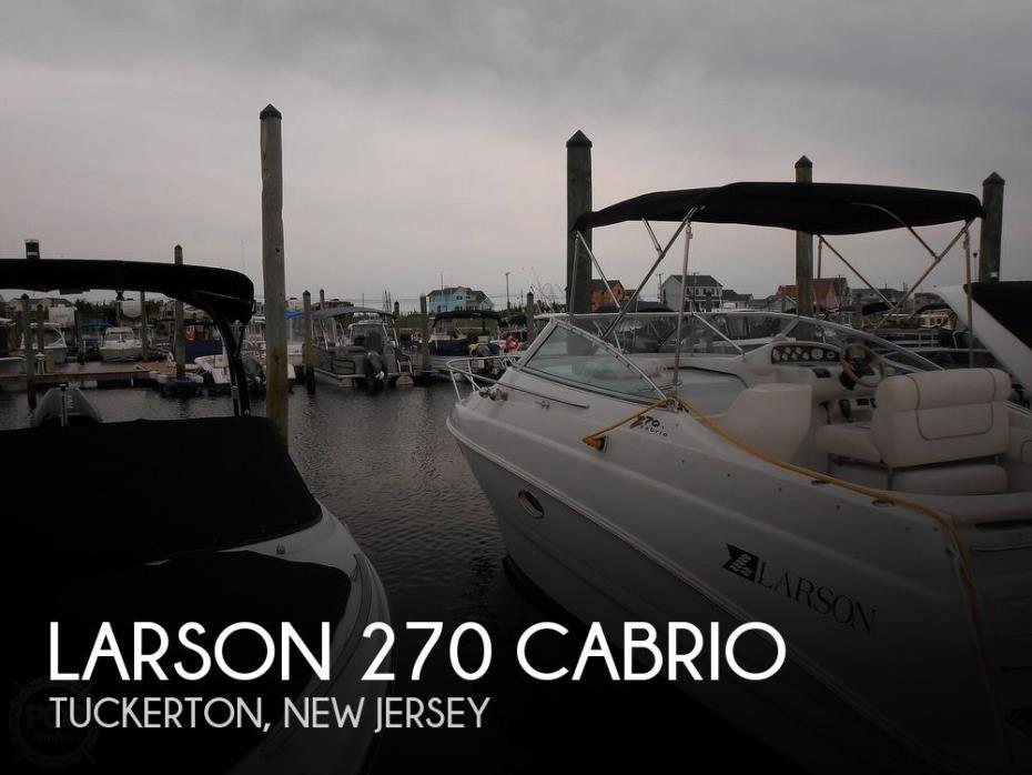 1997 Larson 270 Cabrio
