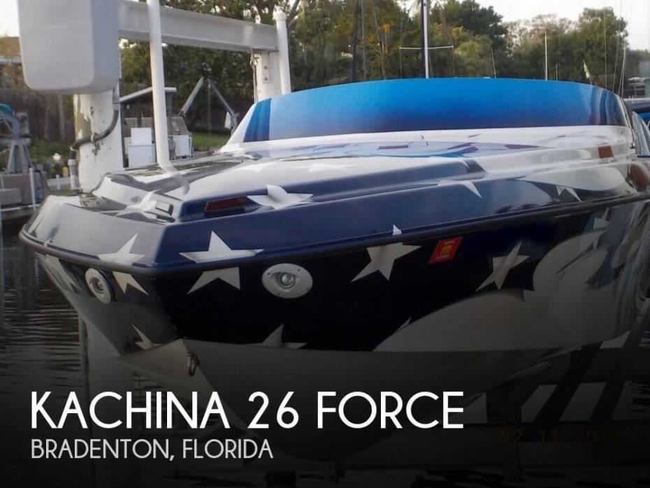 2005 Kachina 26 Force