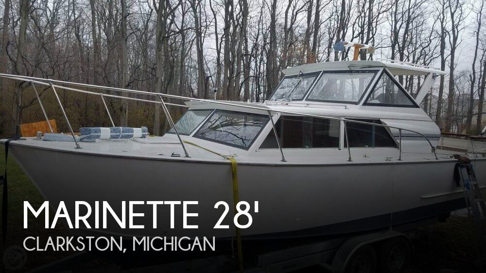 1975 Marinette 28 Express
