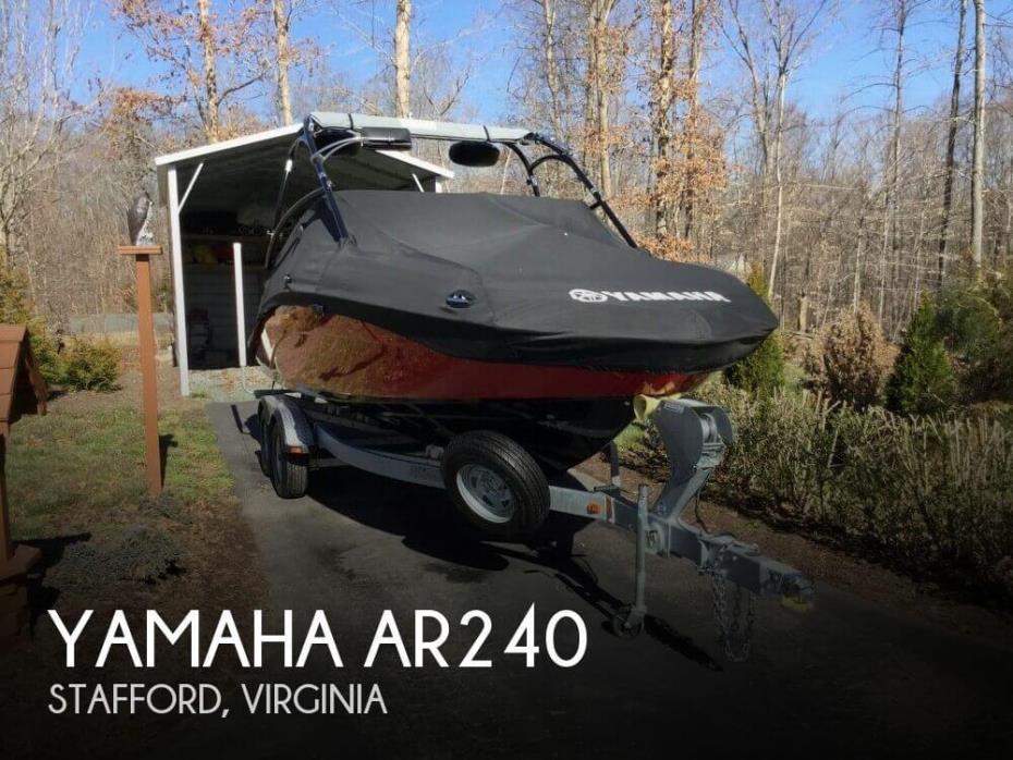 2014 Yamaha AR240