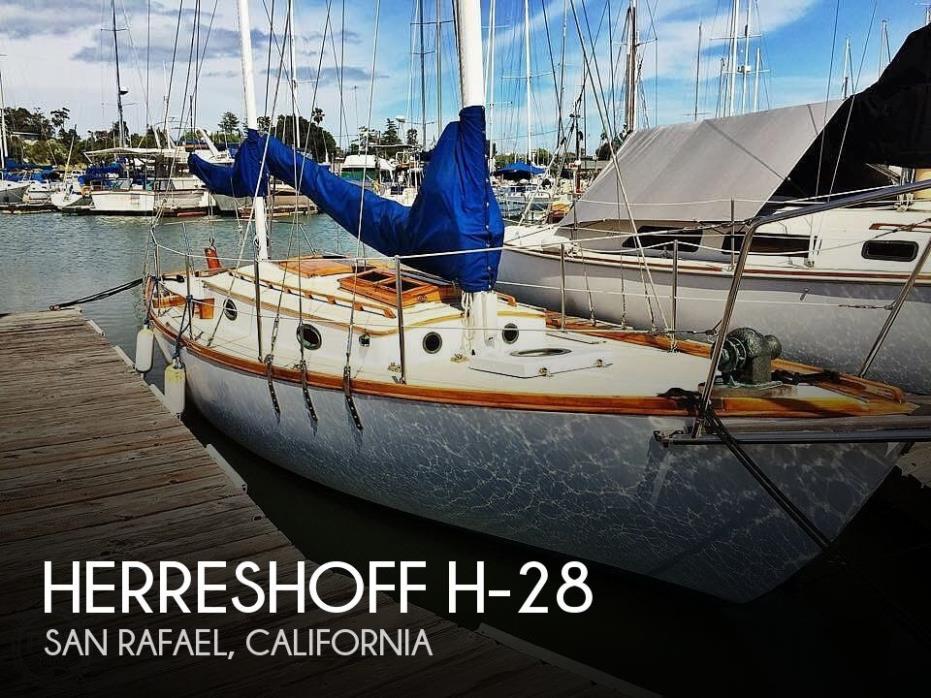 1987 Herreshoff H-28